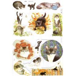 Bokmärken katter Mix
