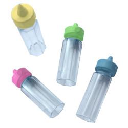 24 st Mini-Nappflaskor Pastell