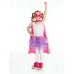 Superhero Kjol Lila