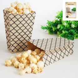 Popcornboxar Natur Lattice