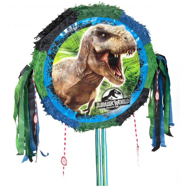 Jurassic World Pull Pinata