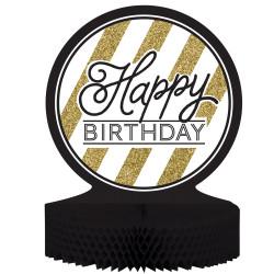 Bordsdekoration Happy Birthday