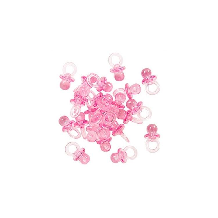 Bordsdekoration Nappar rosa