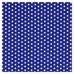 Kaffeservett Blå med prickar