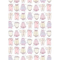 Presentpapper Babykläder