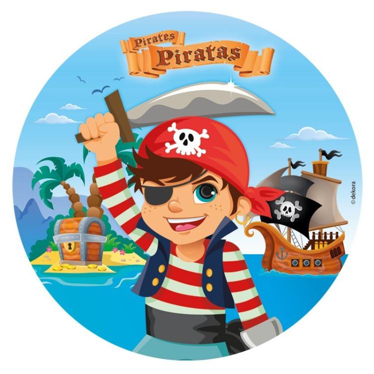 Tårtbild Pirater