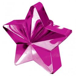 Ballongtyngd Stjärna Hot Pink
