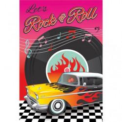 Inbjudningskort Rock & Roll