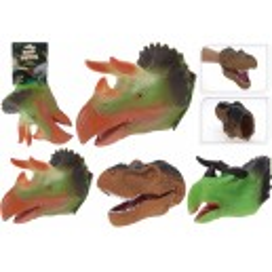 Dinosaurie Handdocka