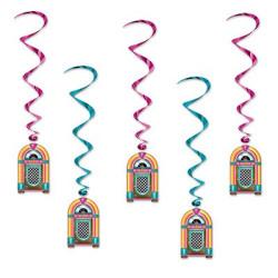 Jukebox Swirl Girlanger