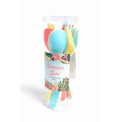 Plastbestick Pastell