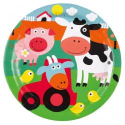 Farm Fun Tallrikar