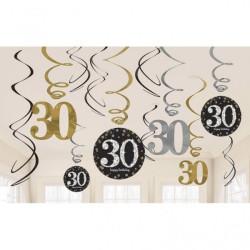 Swirl Dekoration 30 år