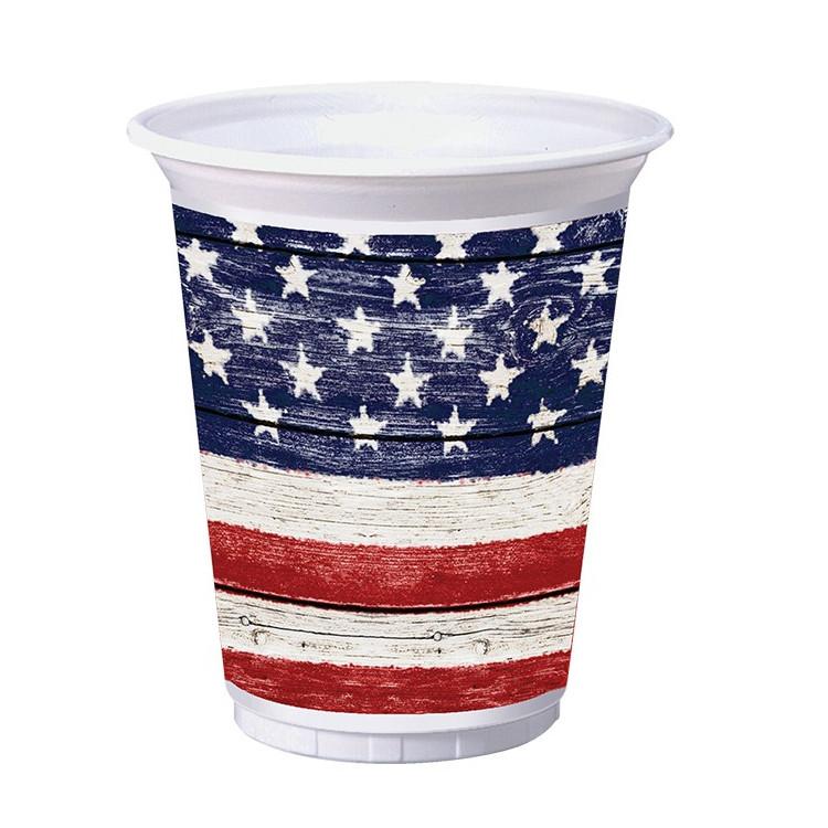 USA Weathered Plastmugg