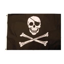 Flagga Dödskalle
