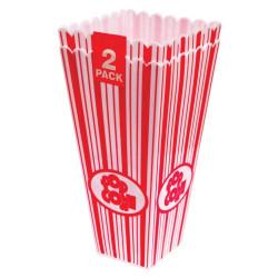 Popcornbox i hårdplast