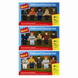 """Legogubbar"" med uniform"