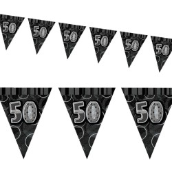 Flaggirlang 50 år Black