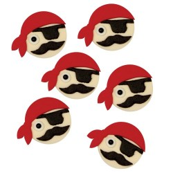 Tårtdekoration Pirater
