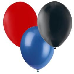 Ballonger Röd, Blå, Svart