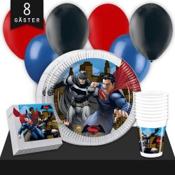 Kalaspaket Batman Vs Superman Enkel 8 pers