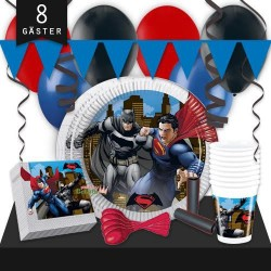 Kalaspaket Batman Vs Superman Lyx 8 pers