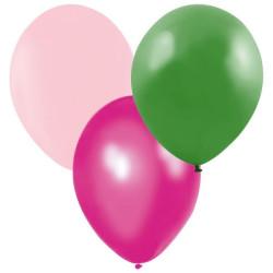 Ballonger Grön, Rosa, Mörkrosa