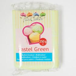 Sockerpasta, Sugarpaste Pastellgrön