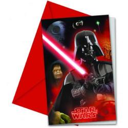 Star Wars Inbjudningskort