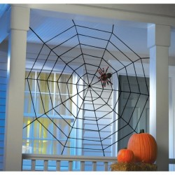 Jättestort Spindelnät