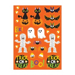 Klistermärken Spooky Friends