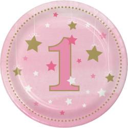 Little Pink Star Assietter