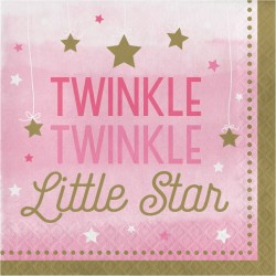 Little Pink Star Servetter