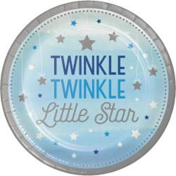 Little Blue Star Tallrikar