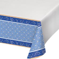 Bordsduk Blå Bandana