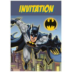 Batman Inbjudningskort
