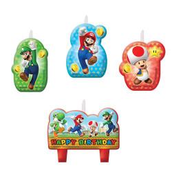 Brosch Super Mario 4 pack