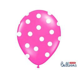 Ballonger Dots Hot Pink