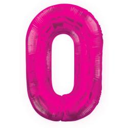 Folieballong 0 Rosa