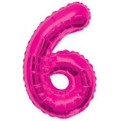Folieballong 6 Rosa