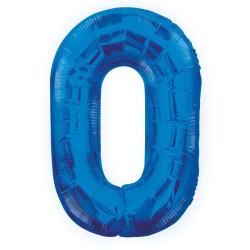 Folieballong 0 Blå