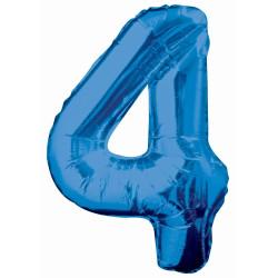 Folieballong 4 Blå