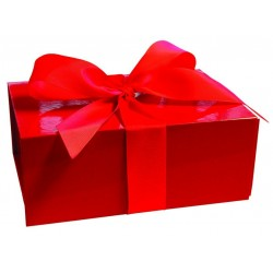 Presentbox Röd Stor