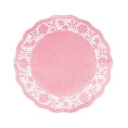 Tårtpapper Rosa