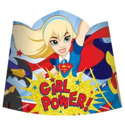 DC Super Hero Girls Tiaras 8 pack