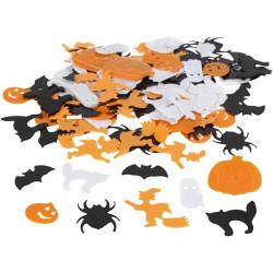 Halloween Paljettmix Konfetti