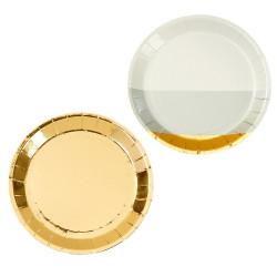 Canapé Assietter Guld & Silver
