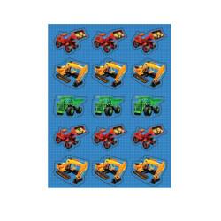 Klistermärken Byggbilar