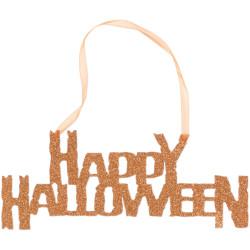 Halloweenskylt Glittrig