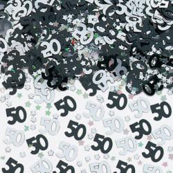 Konfetti 50 svart